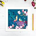 Giclee Print - Fairy Pitta Songbird image