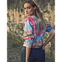 Amal Tie Dye Sweat-Shirt Bubblegum image