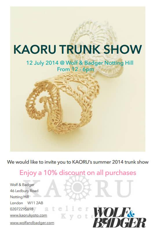 Kaoru Trunk Show
