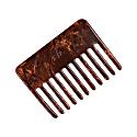 Capelli Hair Comb in Cognac Brown image