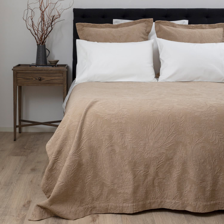 Caramia Cotton Large Square Pillowcase