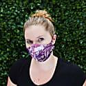 Women'S Silk Reverswible Face Mask - Royal Romance image