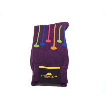 TYLER & TYLER Dropspot Purple Socks