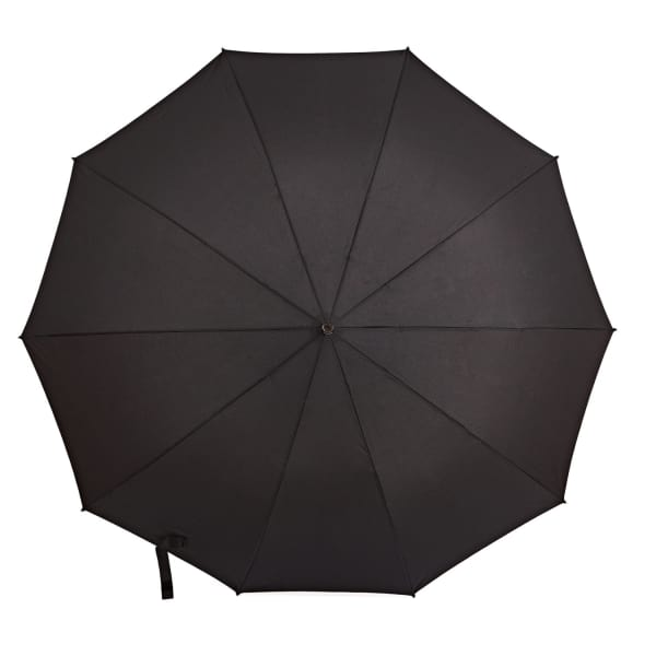GIZELLE RENEE Serendipity Compact Black Umbrella