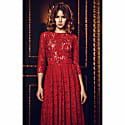Lace Dress Viktoria Red image