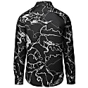 Abstract Vine Formal Shirt Black image