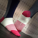 Navy Anne Women's Socks image