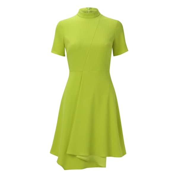 OUTLINE The Priory Dress Lime