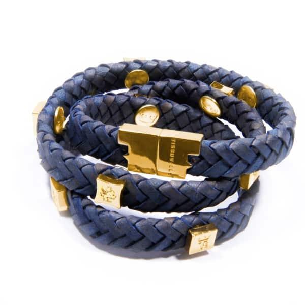 TISSUVILLE Brio Bracelet Jargon Jade Gold