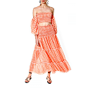 Lola Bright Marigold Skirt image