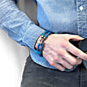 Blue Great Yarmouth Silver & Rope Bracelet image