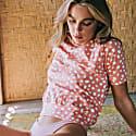 Arnoldi Organic Cotton Ragland Shirt, In Pink Peach Nectar image