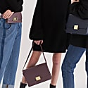 Book Collection Shaped Locker Cross Body Bag image