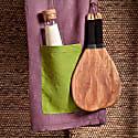 Topaza Pella Linen Beach Towel - Purple Edition image
