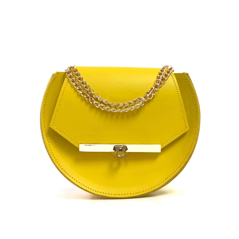 3441d6f6b6 Loel Mini Military Bee Crossbody Bag In Ceylon Yellow | Angela ...