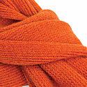 Orange Solid Wool & Cashmere Scarf  image