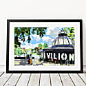 Pavilion Cafe Victoria Park - East London Art Print image