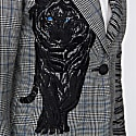 Stripped Embroidered Blazer Tuscany image