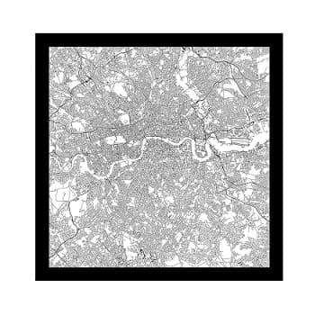 London Printed Scarf