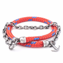 All Red Barmouth Rope Bracelet  image