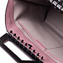 Leather Shopper Bag - Tempo - Roseate & Black image