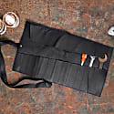 Black Leather Tool Wrap Case image
