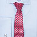 Formentera Tie Dark Red image