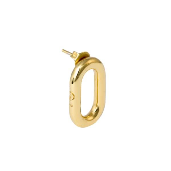 GLENDA LOPEZ The XL Frontal Golden Link Earring