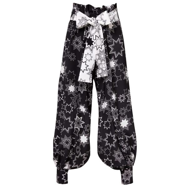 SIOBHAN MOLLOY Scarlett Star Print Caddy Trousers