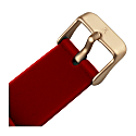 Ksana Ruby Red & Rose Gold Vegan Watch - 38mm image