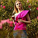 Sunrise Corset Pink Satin with Ruffle image