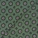 Floral Cotton Foulard - Green image