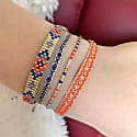 Set Of Two Bracelets In Bright Colours image