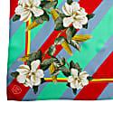 Magnolia & Corn Red Silk Scarf image