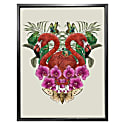 Antique Tropical Flamingo Fine Art Print - A3 image