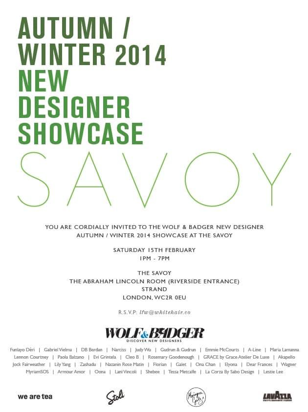 Savoy Invite