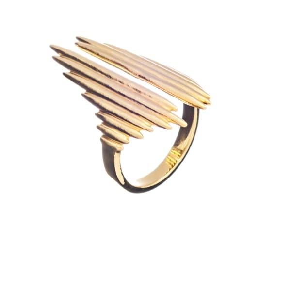 RACHEL JACKSON LONDON Electric Goddess Ring Gold