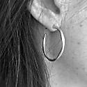 Olivera Medium Gold Vermeil Hoop Earrings image