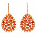 Red Onyx Earrings image
