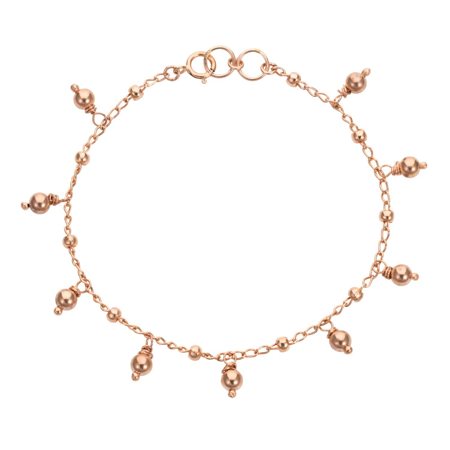 3b93fa99150f Venus Gold Chain Bracelet With Gold Beads | Amadeus | Wolf & Badger
