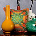 Xanadu Jade Silk Cushion  image