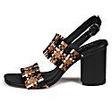 Bibiana Multi Woven Heeled Sandal image