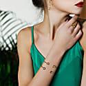 Brio Citrine Gold Vermeil Cuff Bracelet image