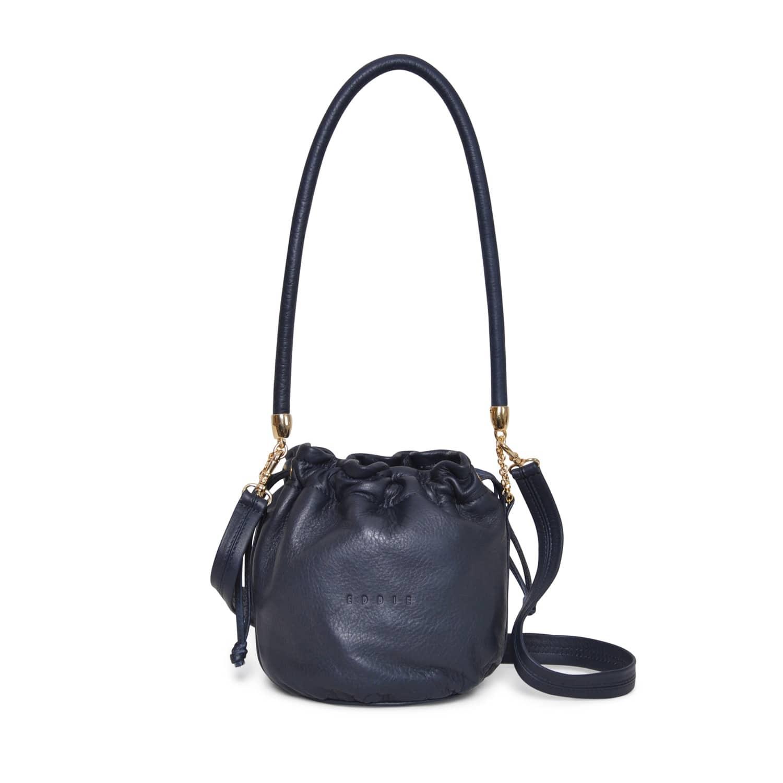 7f702264ff8 Anna Mini Bucket Bag Navy | Eddie | Wolf & Badger
