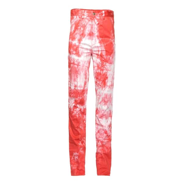 JIRI KALFAR Red faded trousers