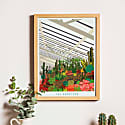 The Barbican Conservatory Illustrated Art Print Of London image