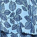 Leaf Print Dress -Blue image