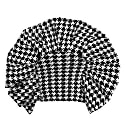 Houndstooth Ruffle Top image