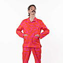 Big Ez Hot Pink Organic Cotton Pyjama Suit image