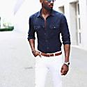 Braided Suede Belt Cognac Gilberto image